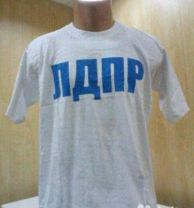 Новая футболка XL