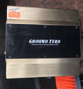 Усилитель моноблок Ground Zero GZIA 1.300HPX