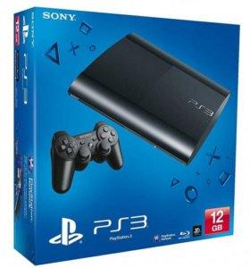 коробка от Sony PlayStation 3