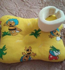 Ортопедическая подушка + воротничек Шанца