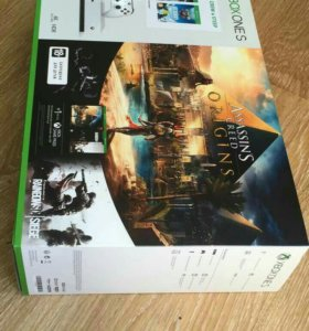 Xbox One S 1tb + assassin's creed+ the crew