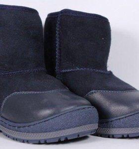 Зимняя обувь для мальчика,полностью натуральные.