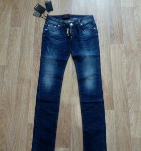 Новые джинсы 29 размер на бедра 98