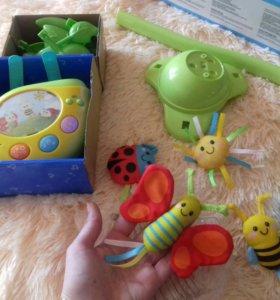 Мобиль на детскую кроватку.