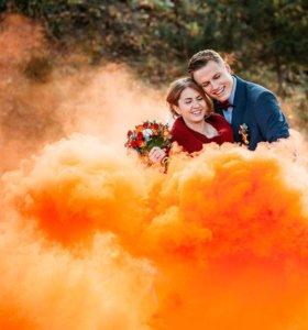 Цветной дым для фотосессий и праздников