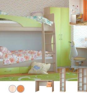 Лиза-1 кровать 2-х ярусная.