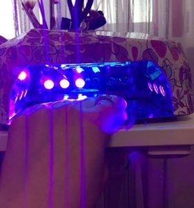 Лампа для гель-лака led + uv