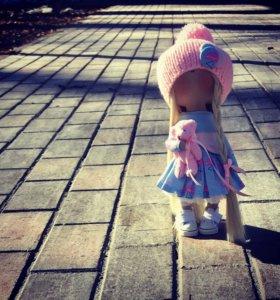 Интерьерная куколка 28 см рост