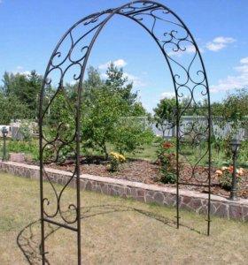 Садовая арка для цветов