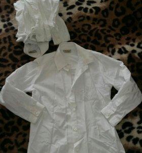 Блузки для школы на девочку (все три за 200)