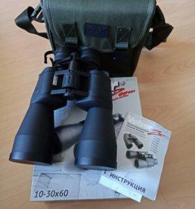 Бинокль Veber Zoom 10-30x60