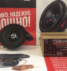 Колонки мидрейндж Ural AS-PT165 BLACK EDITION