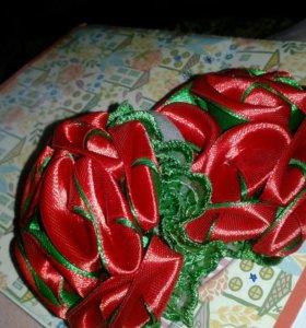 Резинки канзаши для девочек