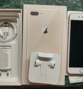 Новый iPhone 8 plus 64 gold м видео