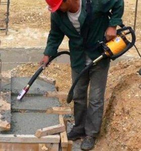 Вибратор глубинный для бетона