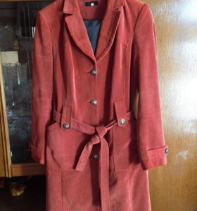 Куртки кожаные-пальто