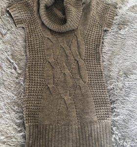 Теплое платье zolla