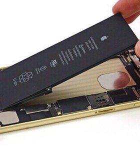 АКБ для всех моделей iPhone+ установка