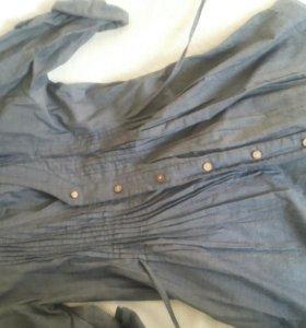 Женское платье рубашка Calzedonia.42
