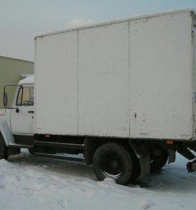 ГАЗ 3307. Термобудка