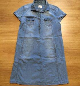 Платье джинсовое 44-46
