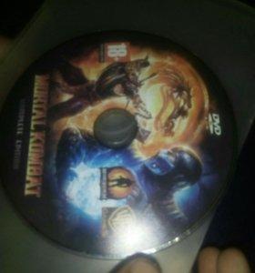 Игровой диск mortal kombat 9
