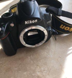 Фотоаппарат Nikon d5000 body (без объектива)