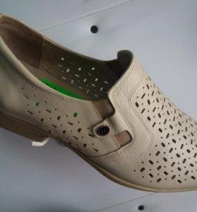 Кожная обувь