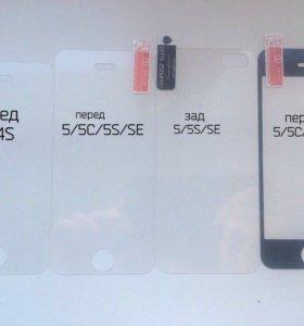Стекла на iPhone 3-6
