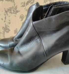 Ботинки нат.кожа 38 размер