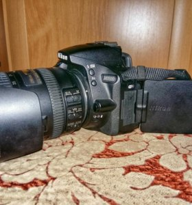 Nikon d5500 c объективом nikkor 18-200 vr2
