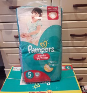 Трусики Pampers 5 (12-18 кг)
