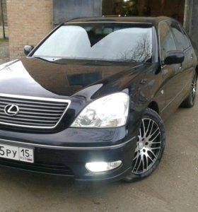 Lexus LS, 2001