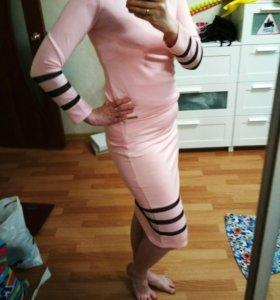 Костюм юбка с кофточкой