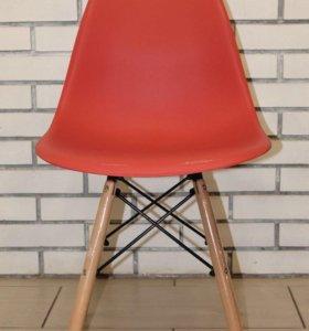 Стул стиль Eames красные