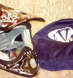 Шлем кроссовый для ребёнка