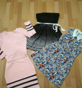Платья и костюм