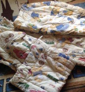 Бампер/бортик в детскую кроватку