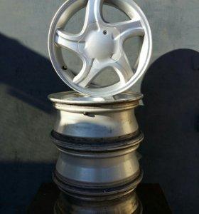 Диски ВАЗ, R14, серебристое литьё, 4шт.