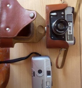 Фотоаппарат Фэд5С и эленберг