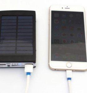 Универсальный power bank на солнечных батареях