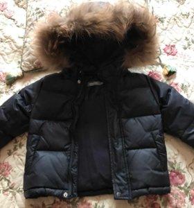Пуховик Куртка для мальчика 86