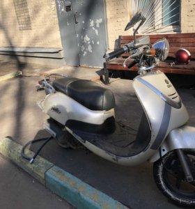 Скутер Sym allo мопед