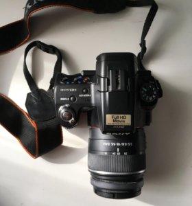 Фотоаппарат зеркальный Sony slt-a55v
