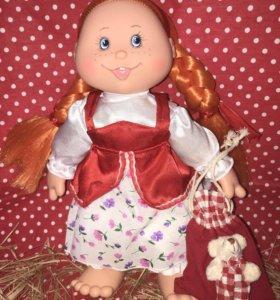 Кукла Веснушка-Шурочка с сюрпризиком