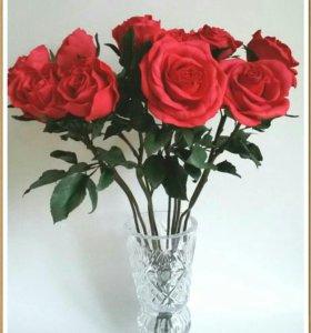 Интерьерные розы.