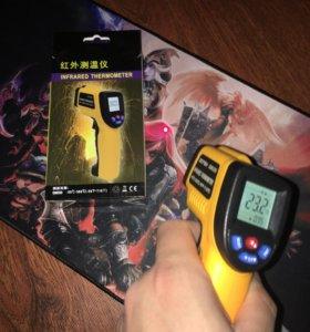 Лазерный инфракрасный цифровой термометр до 380С