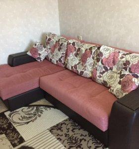 Срочно! диван+кресло,очень хор.сост.,фирма мягкоф