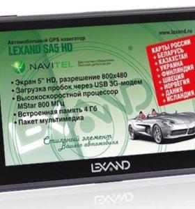 продаю GPS навигатор LEXAND SA5 HD Navitel