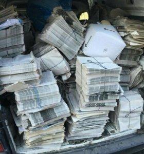 Продам газеты на перестилку